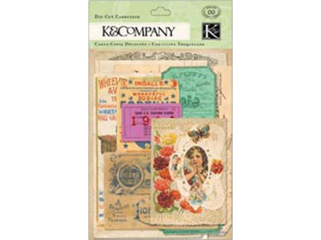 Cardstock Die-Cuts-Life's Journey Ephemera