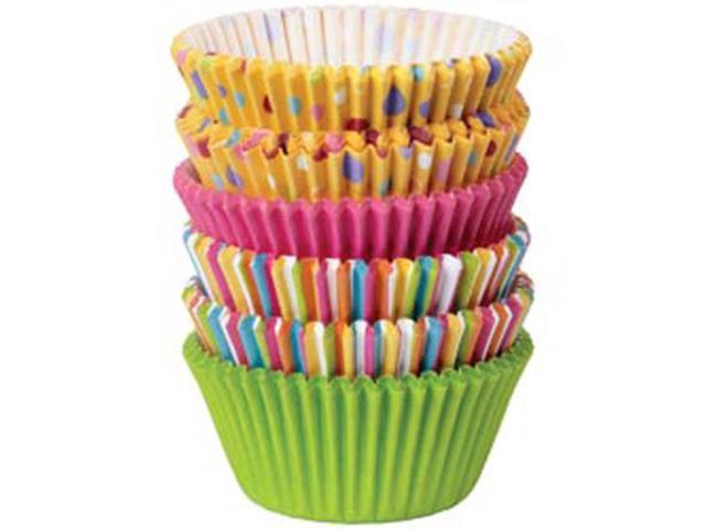 Standard Baking Cups-Dots & Stripes 150/Pkg