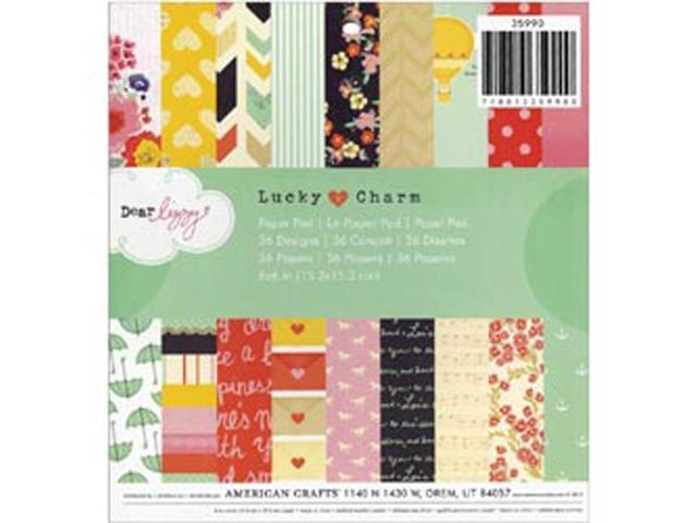 Dear Lizzy Lucky Charm Paper Pad 6