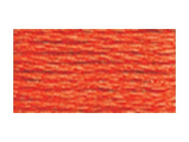 DMC Six Strand Embroidery Cotton 100 Gram Cone-Orange Bright