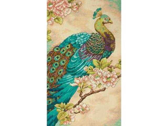 Indian Peacock Counted Cross Stitch Kit-9
