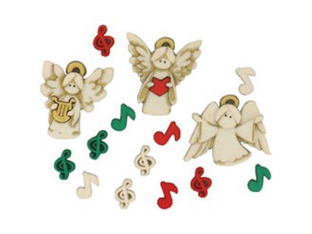 Dress It Up Holiday Embellishments-A Choir Of Angels