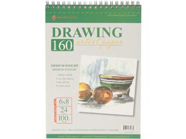 Drawing Pad 100# 24 Sheets/Pkg-6