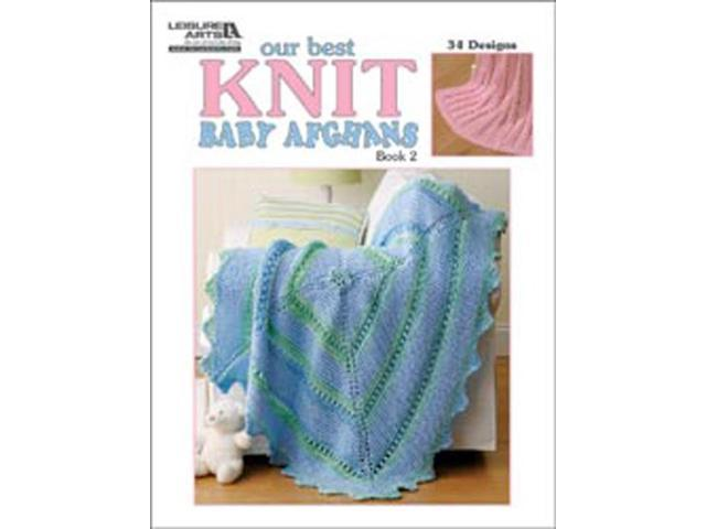Leisure Arts-Our Best Knit Baby Afghans; Book 2