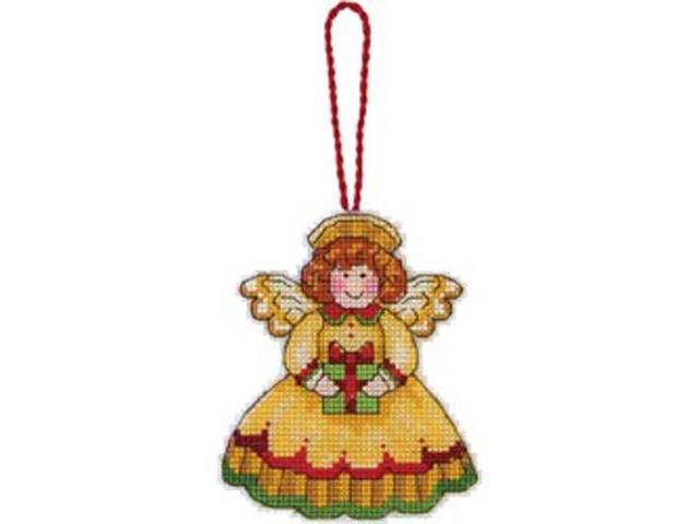 Susan Winget Angel Ornament Counted Cross Stitch Kit-3-1/4