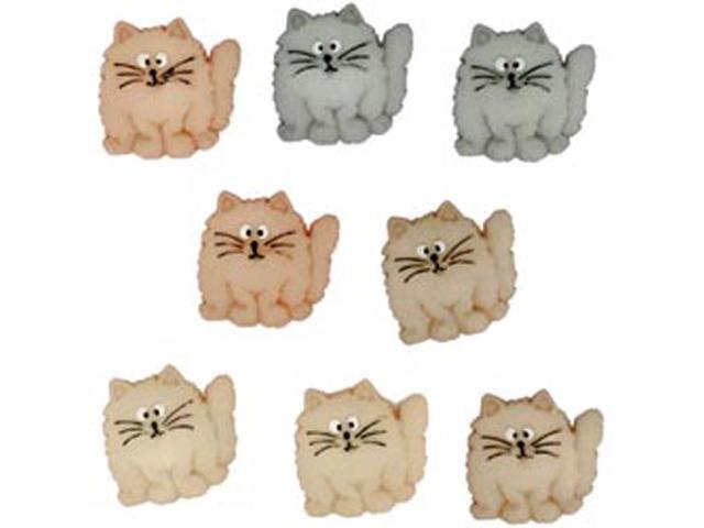 Dress It Up Embellishments-Fat Cats