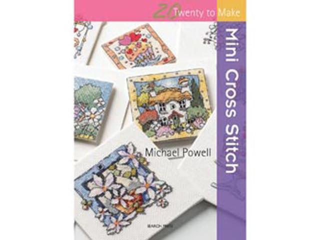 Search Press Books-Mini Cross Stitch