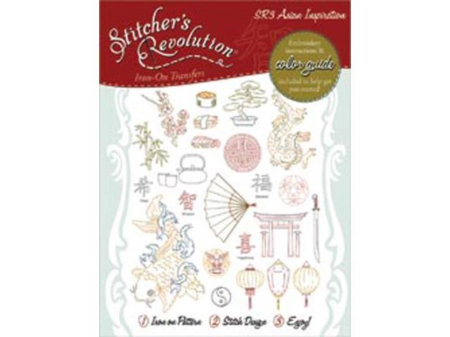 Stitcher's Revolution Iron-On Transfers-Asian Inspirations