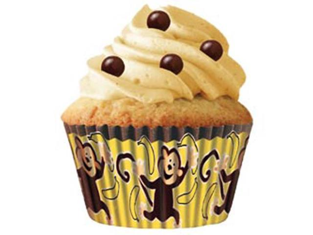 Standard Baking Cups-Monkey Business 32/Pkg
