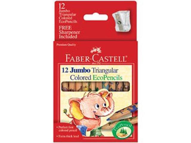 Faber Castell Jumbo Triangular EcoPencils 12/pk Art