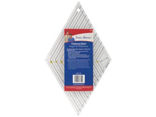 Fons & Porter Diamond Ruler-1