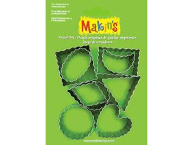 Makin's Clay Crinkle Cutter Set-9 Pieces