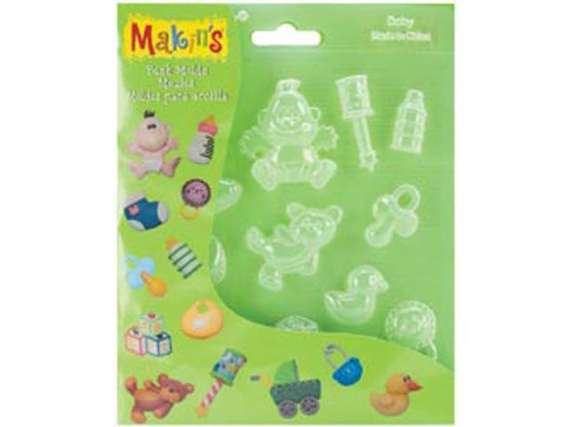 Makin's Clay Push Molds-Baby