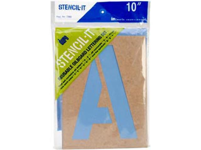 Stencil-It Reusable Lettering Set-10