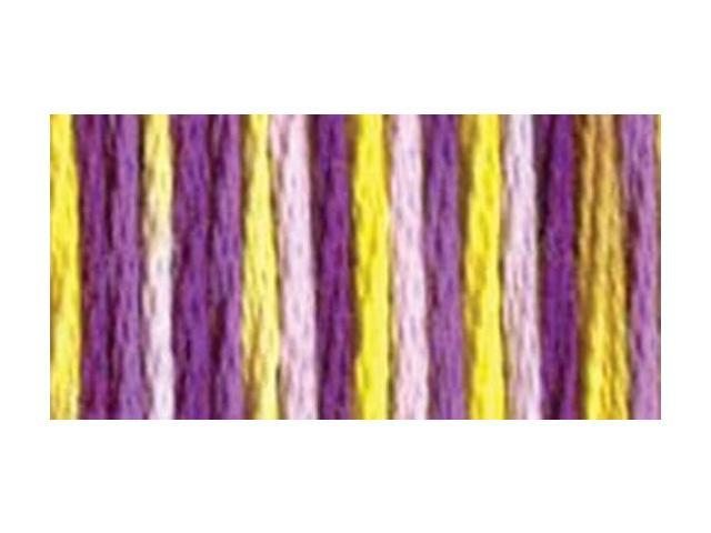 DMC Color Variations Pearl Cotton Size 5 - 27 Yards-Purple Pansy
