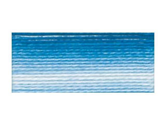 Brilliant Tatting Cotton-Variegated Cornflower Blue