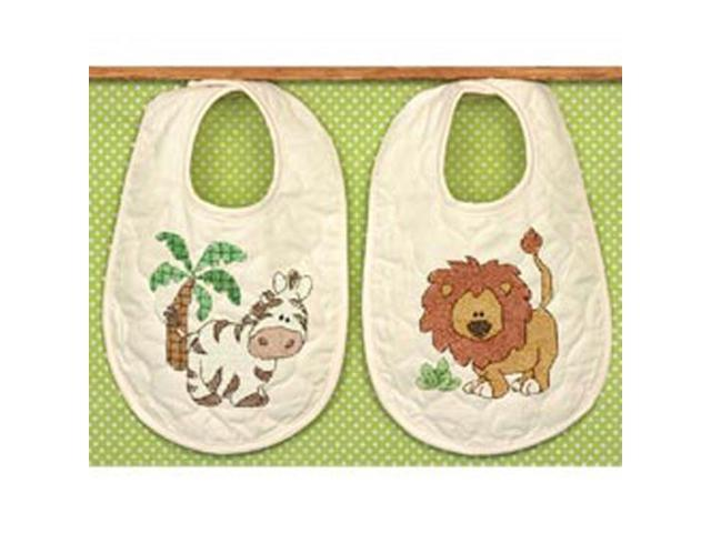 Kimba Baby Bibs Stamped Cross Stitch Kit-9