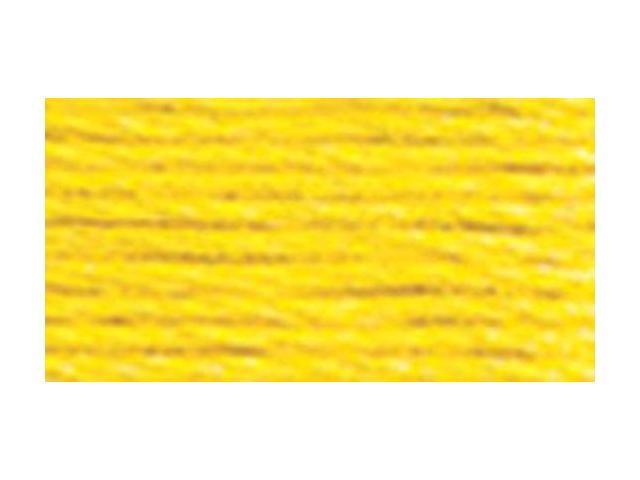 DMC Six Strand Embroidery Cotton 100 Gram Cone-Lemon