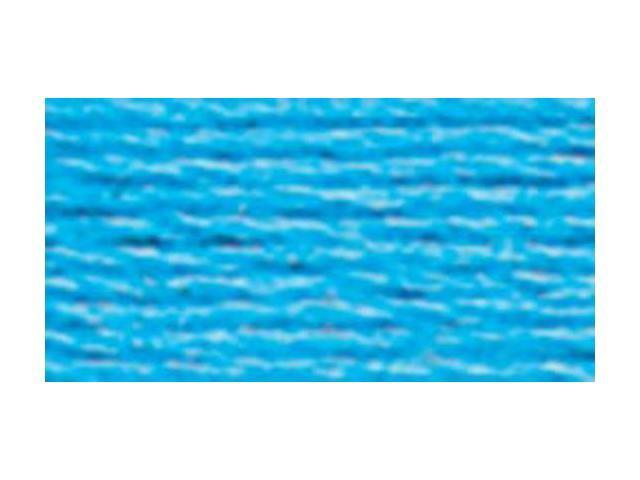 DMC Six Strand Embroidery Cotton 100 Gram Cone-Electric Blue Medium