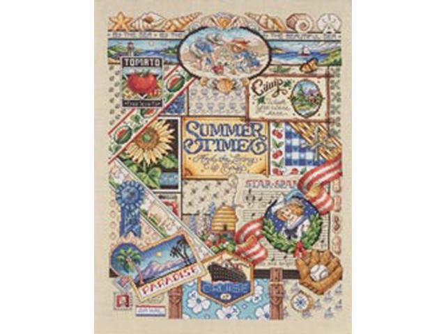 Summer Sampler Counted Cross Stitch Kit-12