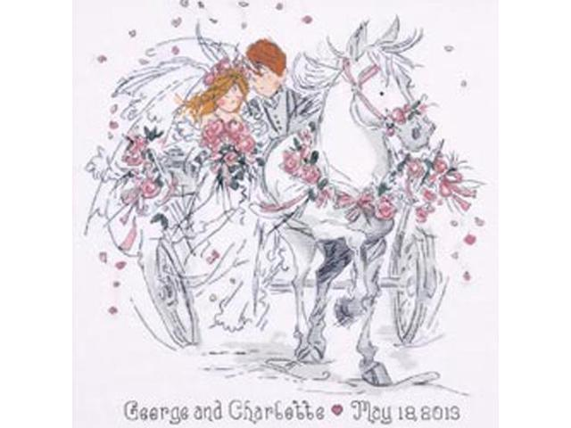 Wedding Carriage Counted Cross Stitch Kit-12