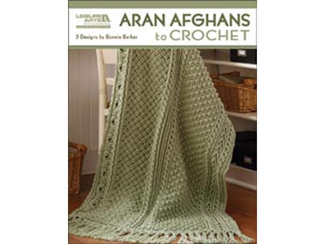 Leisure Arts-Aran Afghans To Crochet