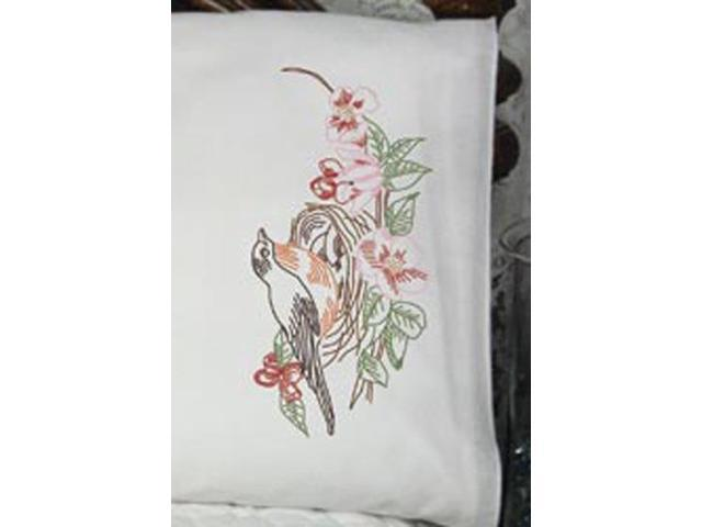 Stamped Perle Edge Pillowcase 30