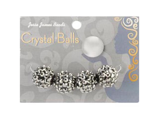Crystal Ball Bead Cluster 16mm 4/Pkg-Style 24