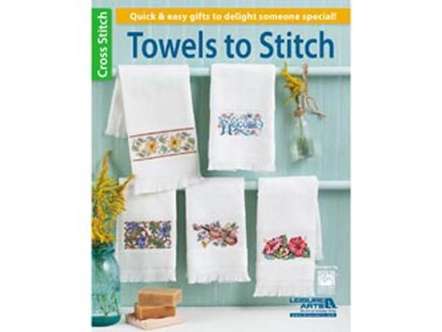 Leisure Arts-Towels To Stitch
