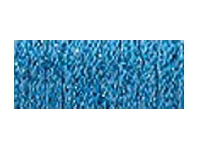Kreinik Fine Metallic Braid #8 10 Meters (11 Yards)-Blue