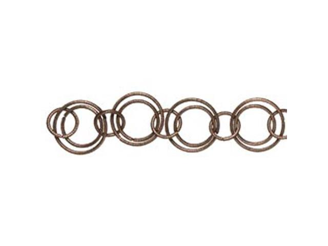 Jewelry Basics Metal Chain 1/Pkg-Copper Round 10