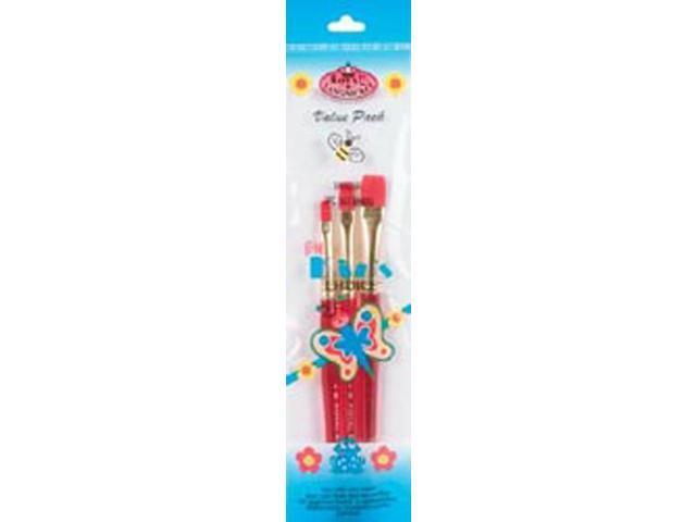 Big Kids Choice Shader Brush Set-3/Pkg