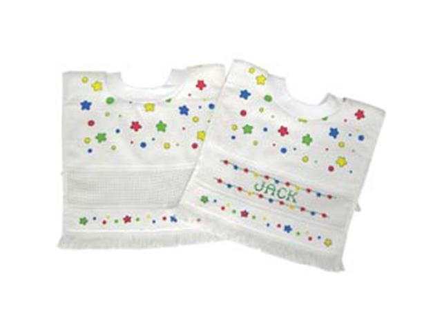 Printed Velour Toddler Pull Over Bib 12