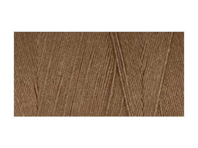 Star Mercerized Cotton Thread Solids 1200 Yards-Brown Chestnut