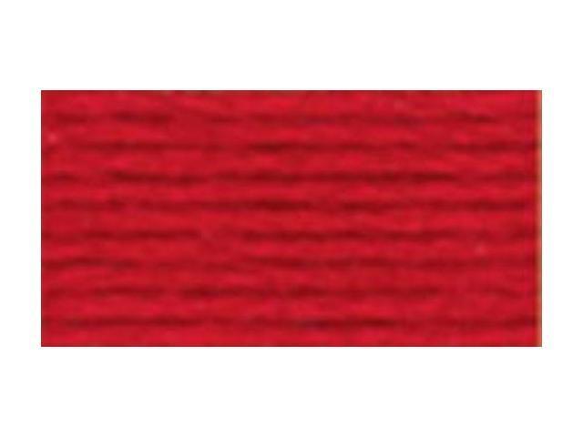 DMC Pearl Cotton Skeins Size 3 - 16.4 Yards-Very Dark Coral Red