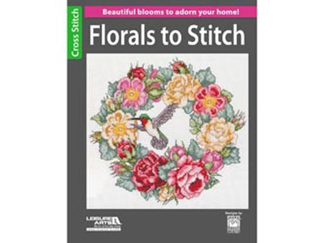 Leisure Arts-Florals To Stitch