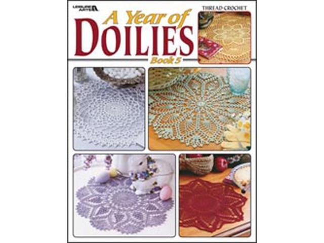 Leisure Arts-A Year Of Doilies