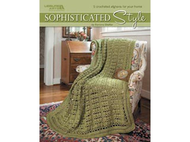 Leisure Arts-Sophisticated Style 5 Afghans