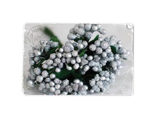 Berries Stem-Silvery