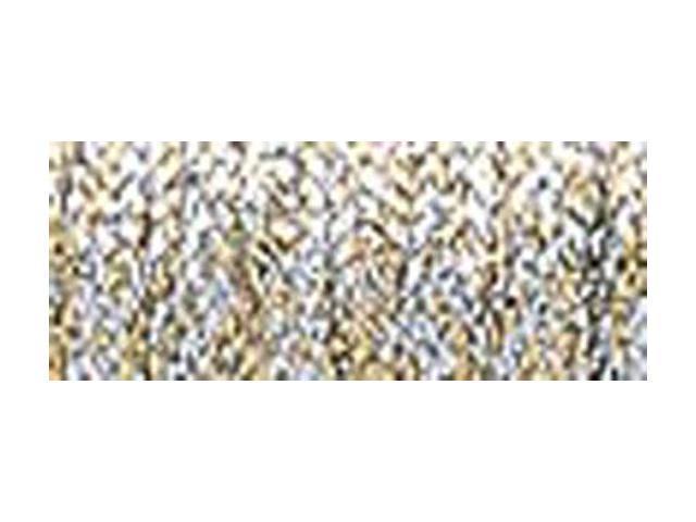 Kreinik Very Fine Metallic Braid #4 11 Meters (12 Yards)-Vatican Gold Hi Lustre