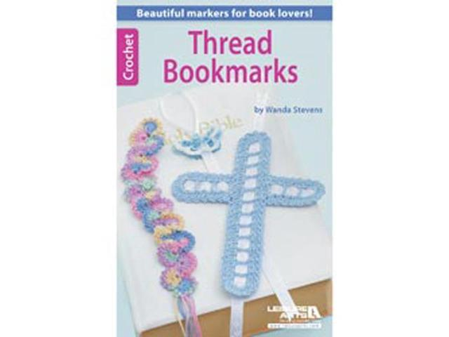 Leisure Arts-Crochet Thread Bookmarks