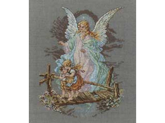 Guardian Angel Counted Cross Stitch Kit-7-1/2