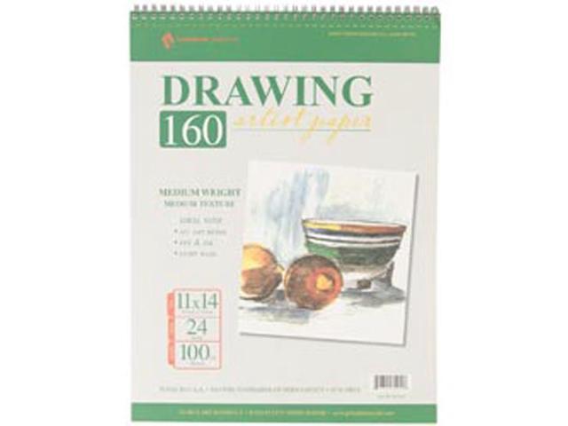 Drawing Pad 100# 24 Sheets/Pkg-11