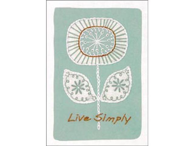 Live Simply Crewel Kit-5