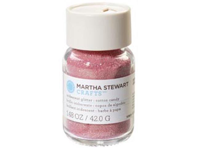 Martha Stewart Glitter 1.48oz-Cotton Candy