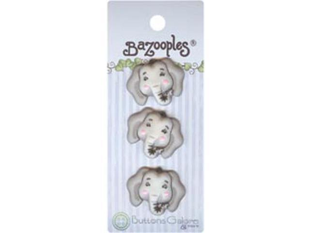 BaZooples Buttons-Elsie The Elephant