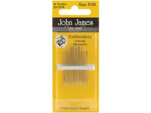 Crewel/Embroidery Hand Needles-Size 5/10 16/Pkg