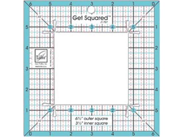 Get Squared Ruler-6-1/2
