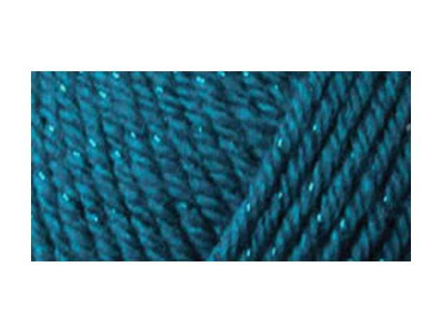 Simply Soft Party Yarn-Teal Sparkle