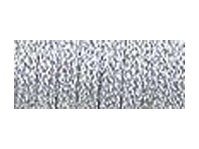Kreinik Very Fine Metallic Corded Braid #4 11 Meters (12 Yds-Silver